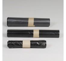 Afvalzakken HDPE, grijs 61 x 80 cm T20