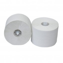 Toiletpapier met dop 1-laags